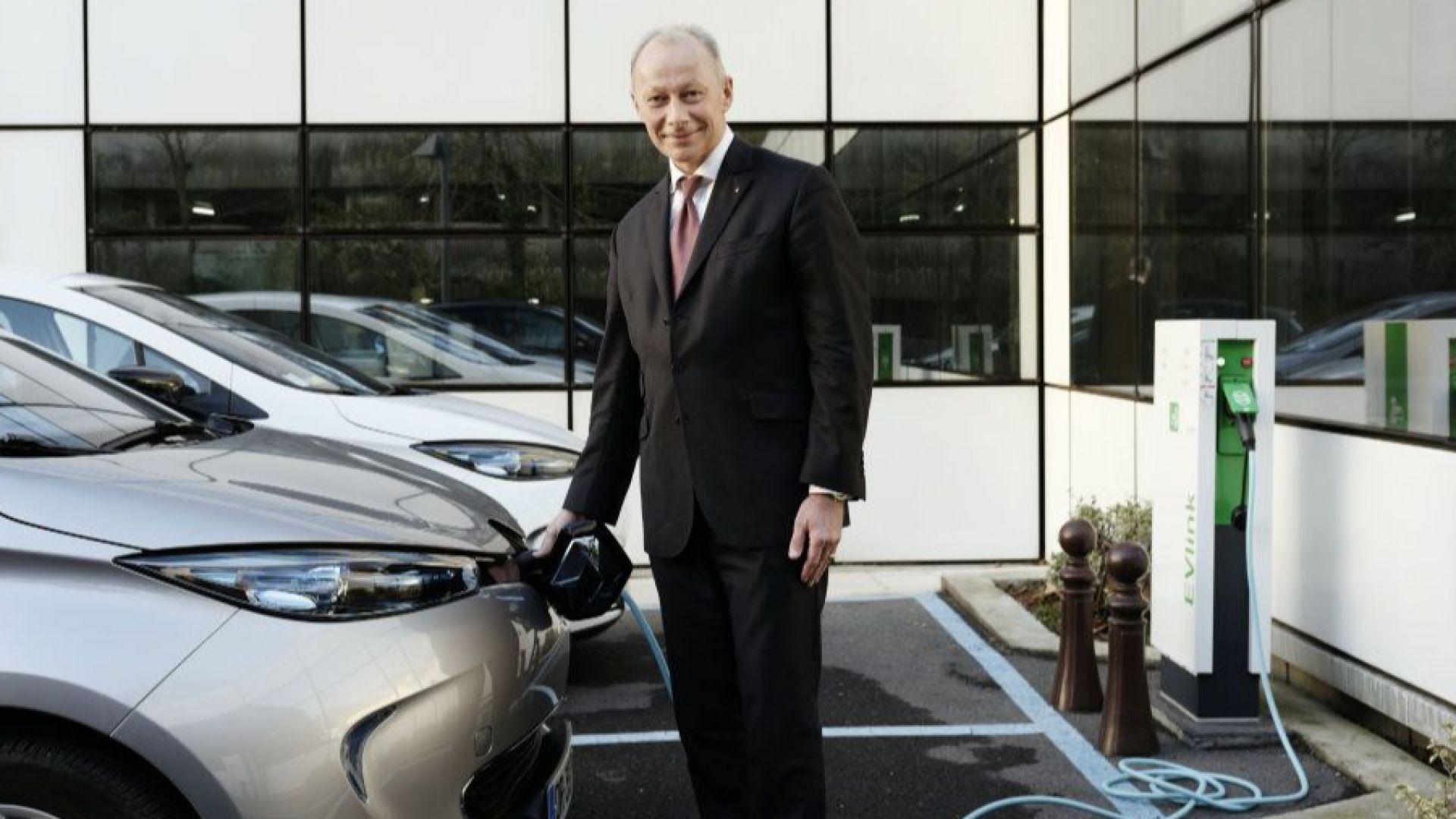 Тиери Болоре става временен президент на Рено
