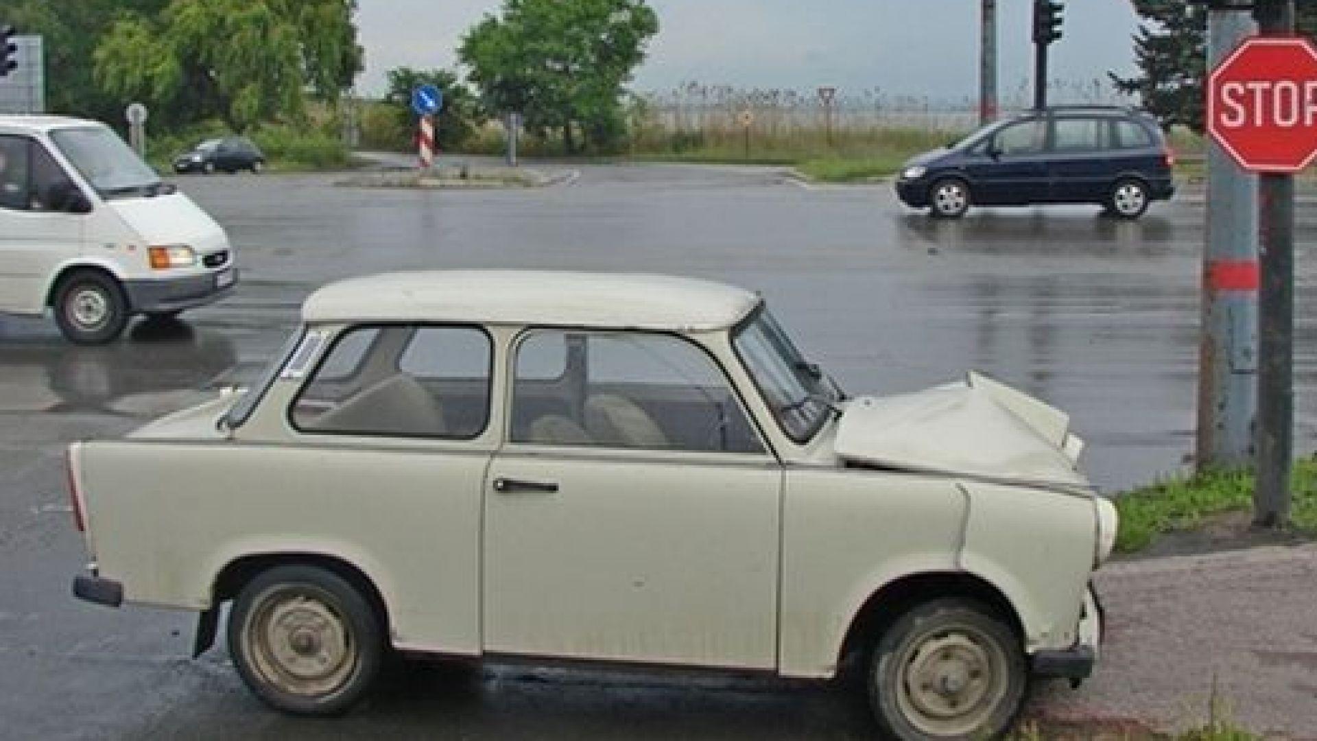 Пенсионер с трабантче блъсна пешеходец в Бургас