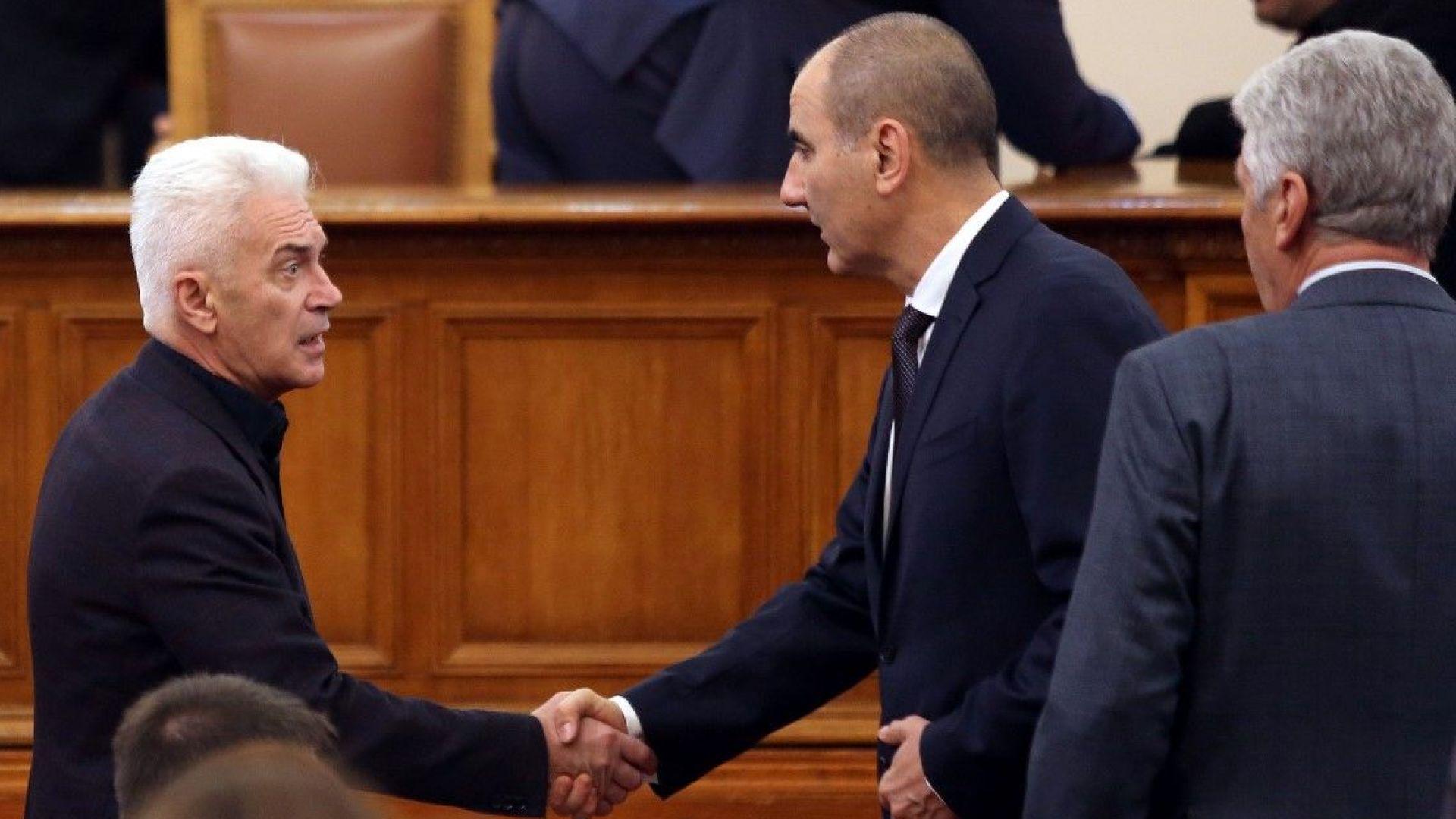 Депутатите на Сидеров бойкотират избора на вицепремиер
