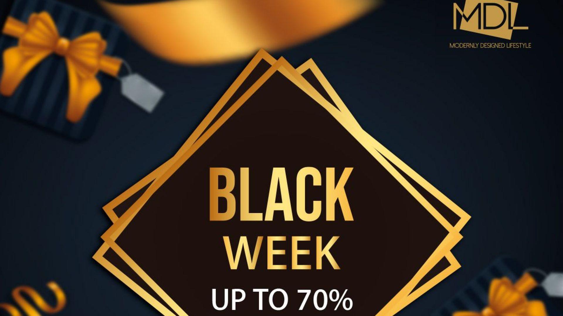 Black Week в магазините на MDL Group