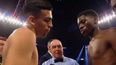 Най-слабият професионален боксьор в света? (видео)
