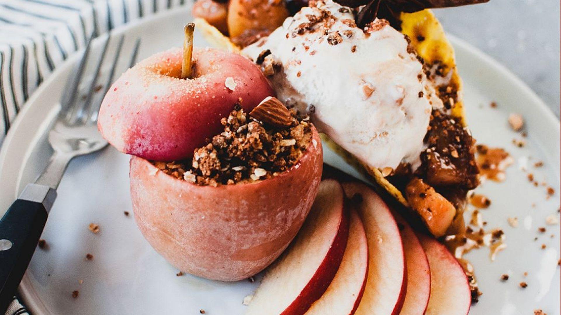 Сладко изкушение за студените дни: Печена ябълка