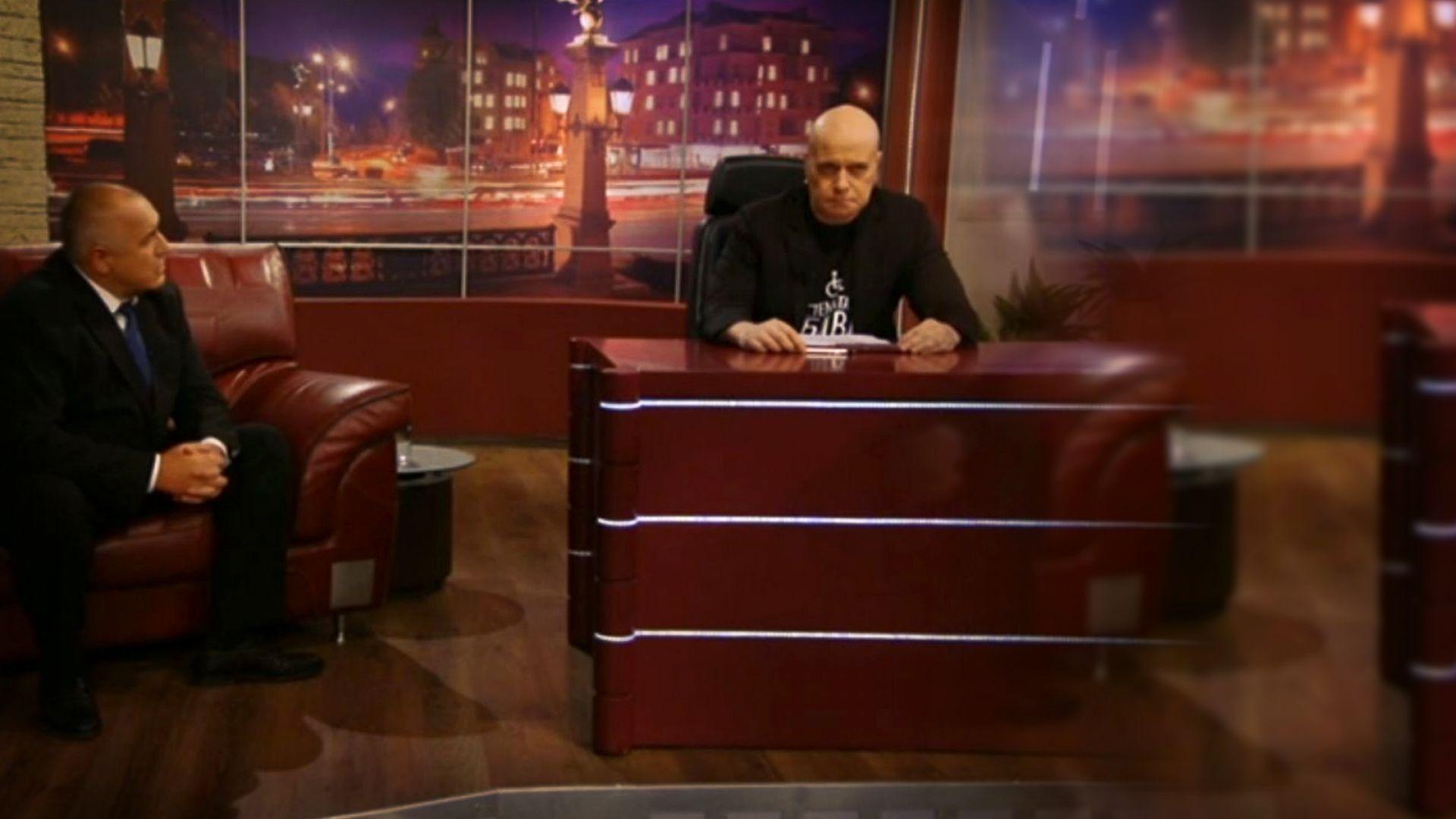 Бойко Борисов при Слави Трифонов: Новина за субсидиите, негативен пример с Румен Радев и зов за нормален диалог (видео)