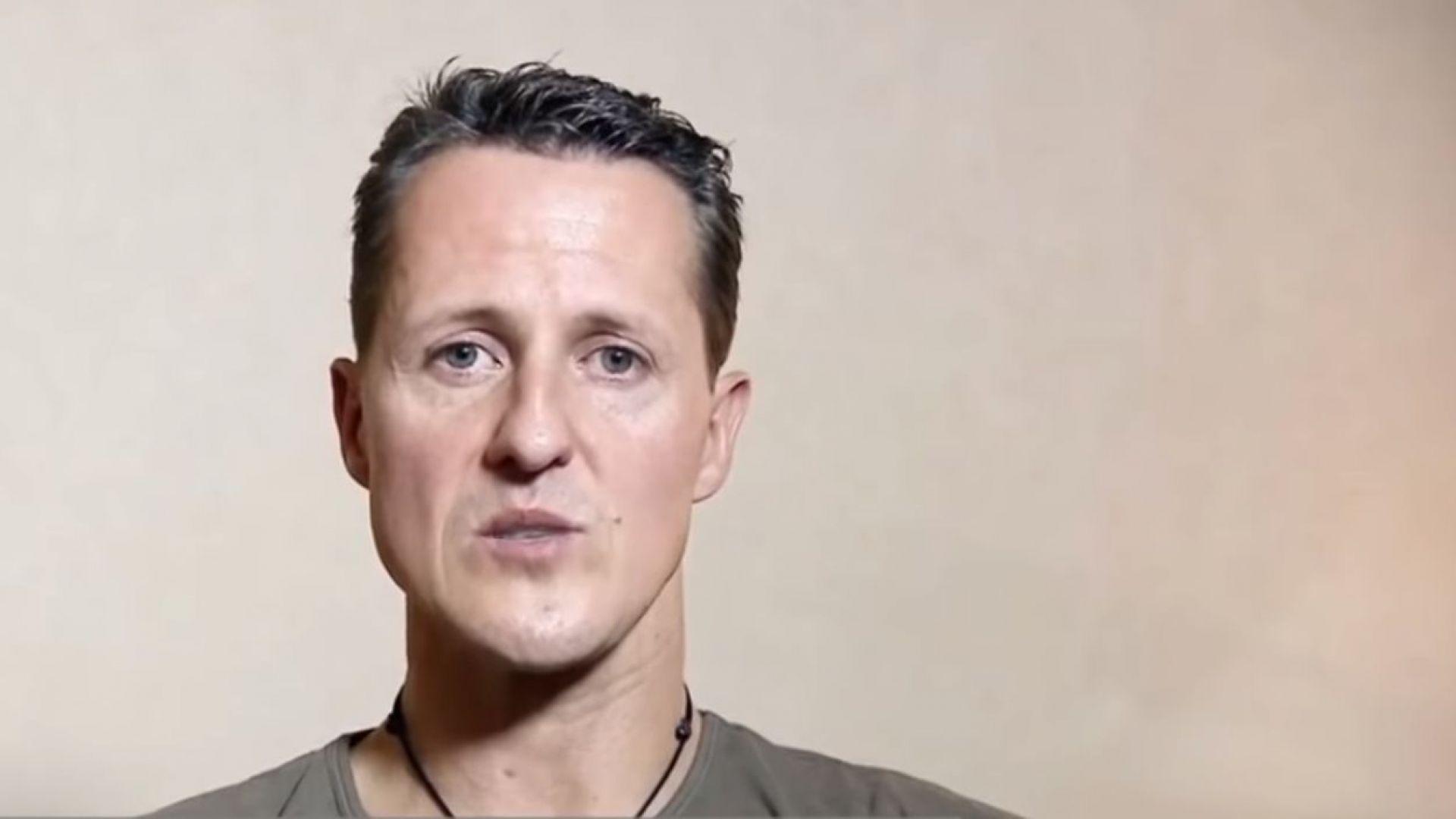 Семейството на Шумахер показа последното му, непубликувано интервю (видео)