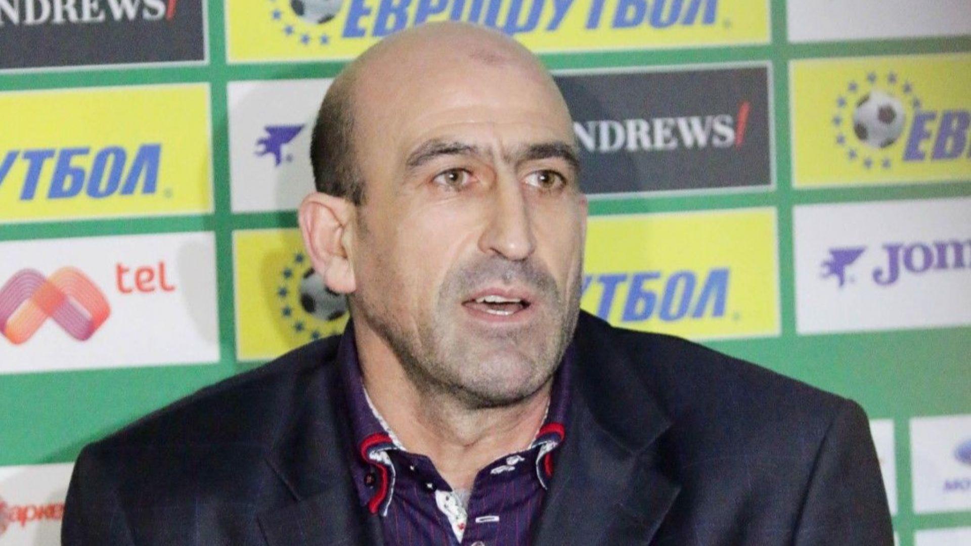 Лечков след унижението: Не виждам каква вина има БФС