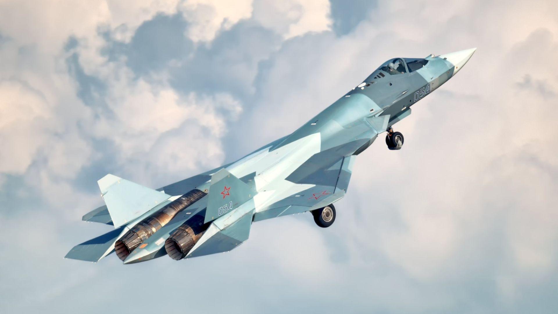 Руските военни купуват 76 изтребителя Су-57 за $2,3 млрд.