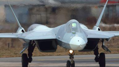Заснеха изпитания на оръдието на Су-57 (видео)