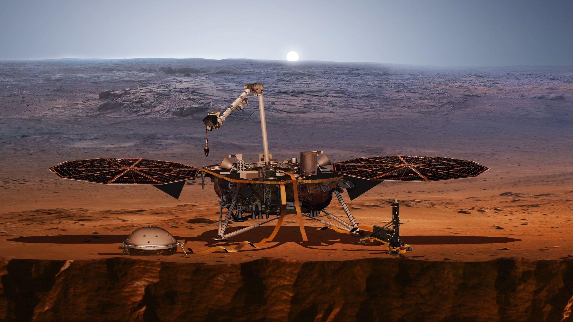 Проблем с марсианската сонда на НАСА