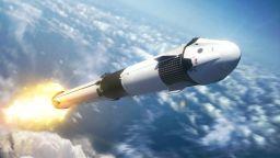 Илон Мъск показа анимация с първата мисия на Crewed Dragon