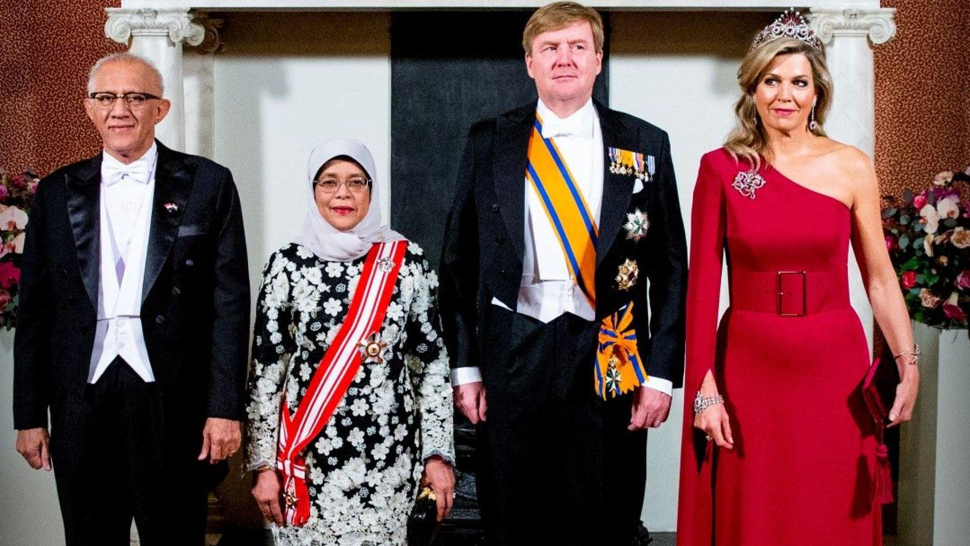 Холандската кралица Максима отново впечатли с тоалет