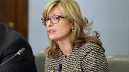 """Захариева не вижда връзка между думите на Путин за """"Турски поток"""" и изгонването на дипломата ни"""