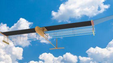 Създадоха самолет, движен от йонен вятър