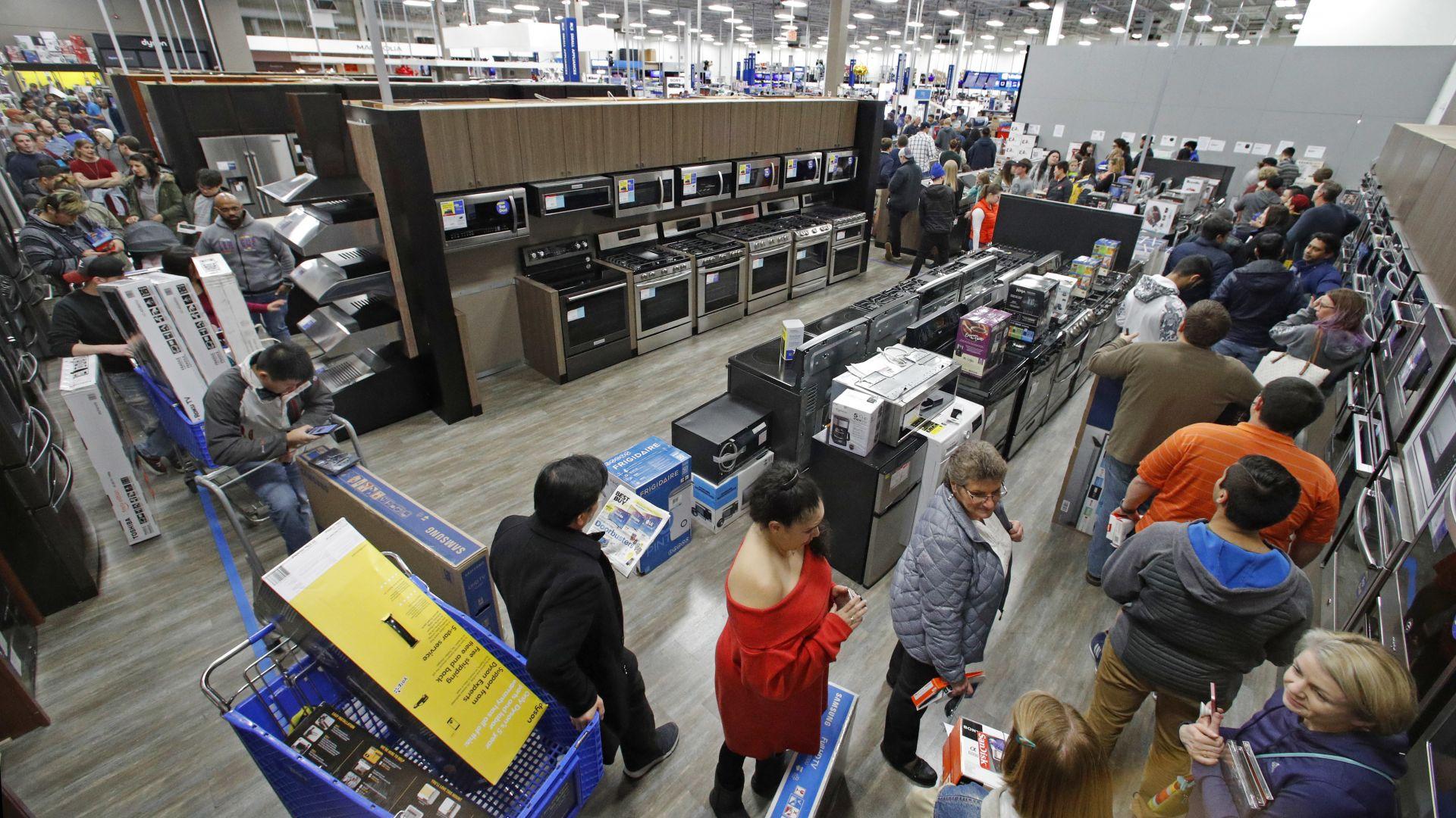 По-големите вериги магазини в ЕС имат добрата практика да приемат обратно подаръците