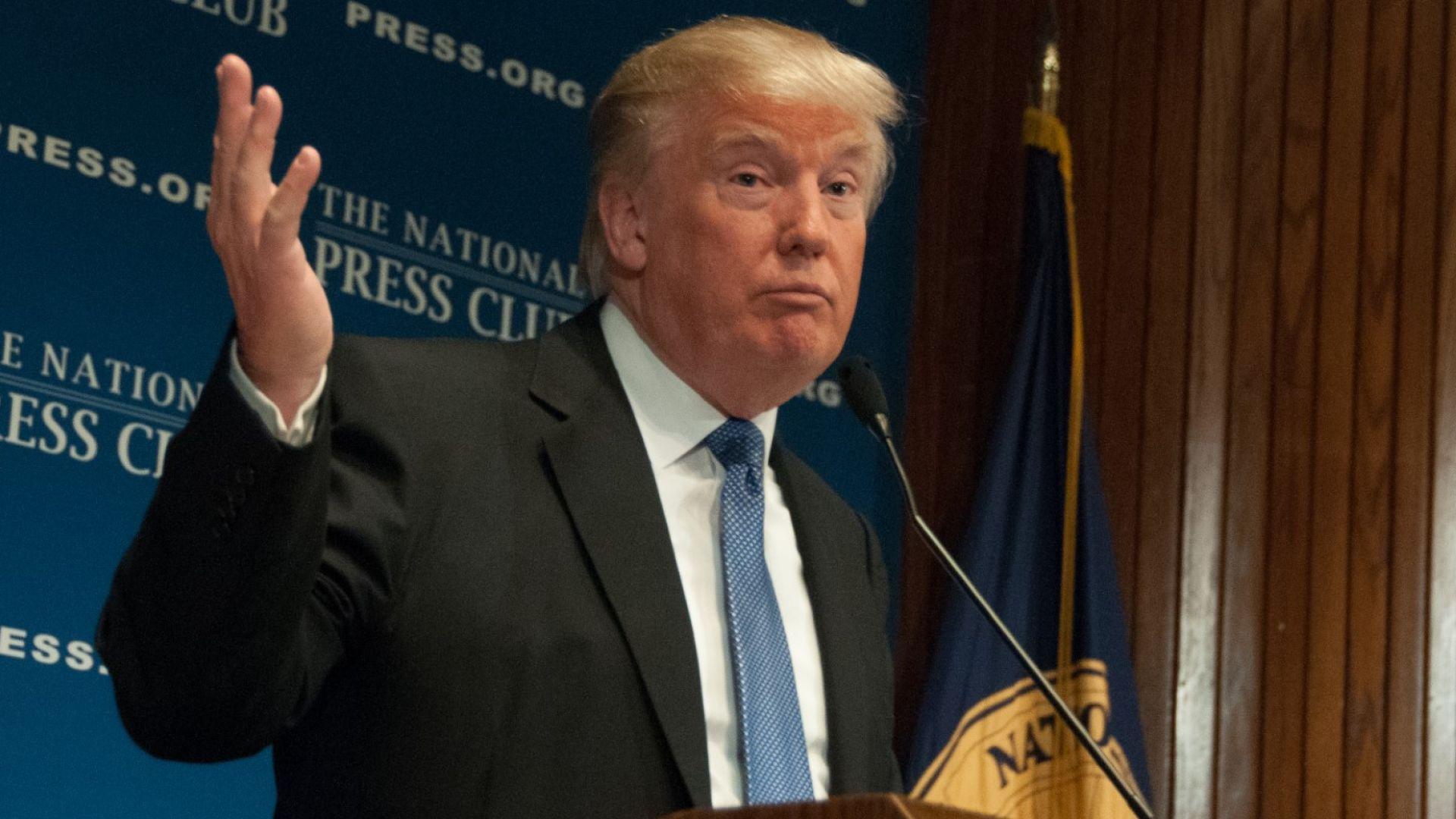 Тръмп: Удари ни невиждан студ, къде е глобалното затопляне?!
