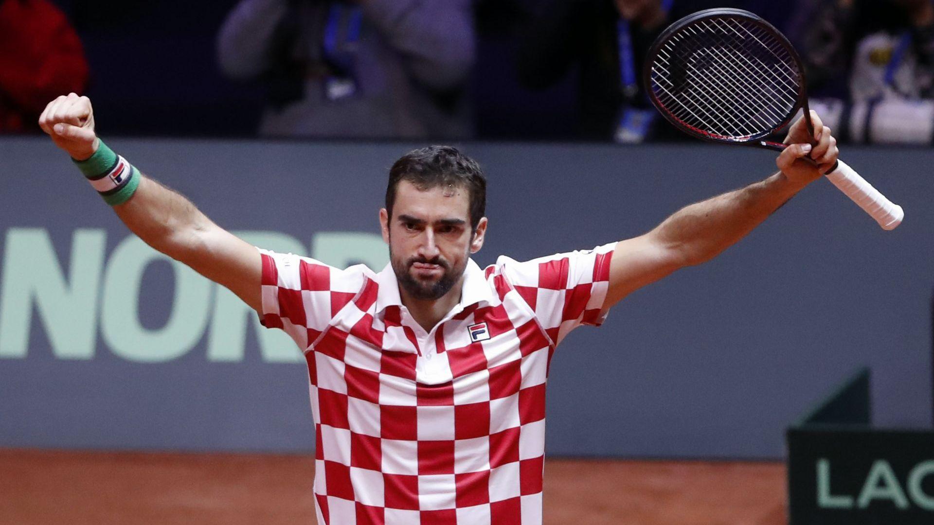Хърватия докосва титлата, Чилич и Чорич не дадоха шанс на французите