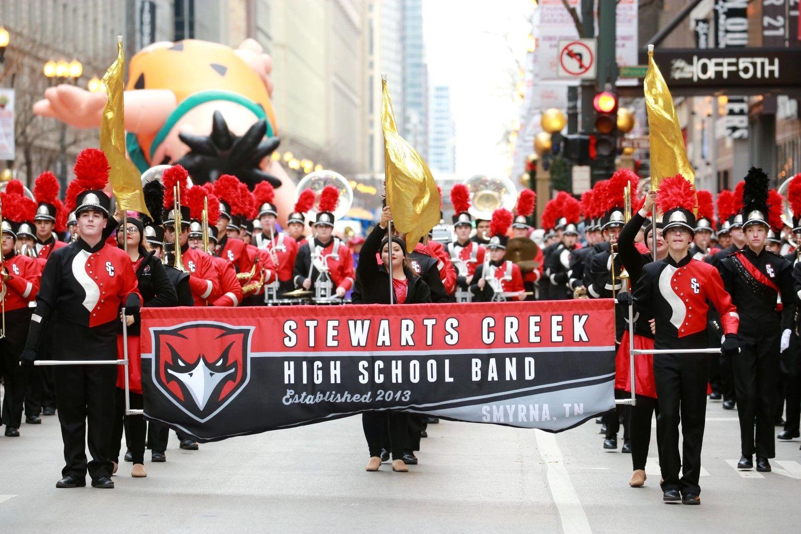 Училищна музика взе участие в шествието в Чикаго