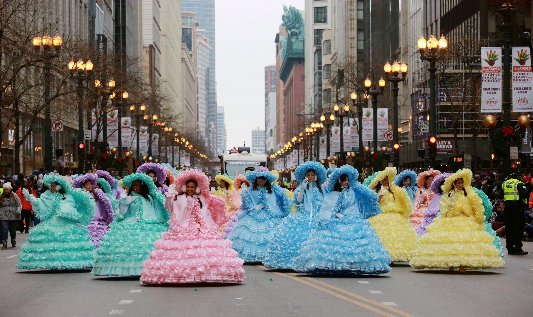Парад в Чикаго