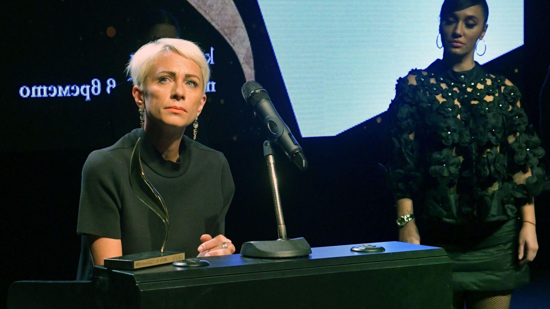 """Нана Гладуиш и Теди Духовникова с приз """"Жена на годината"""" (снимки)"""