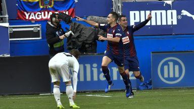 Слаб Реал се върна към кошмарите