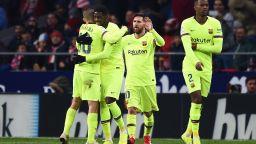 """""""Мързеливецът"""" Дембеле измъкна Барселона в Мадрид"""
