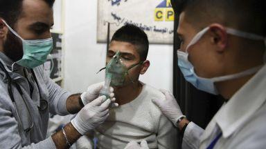 Десетки пострадали при нападение с отровен газ в Сирия