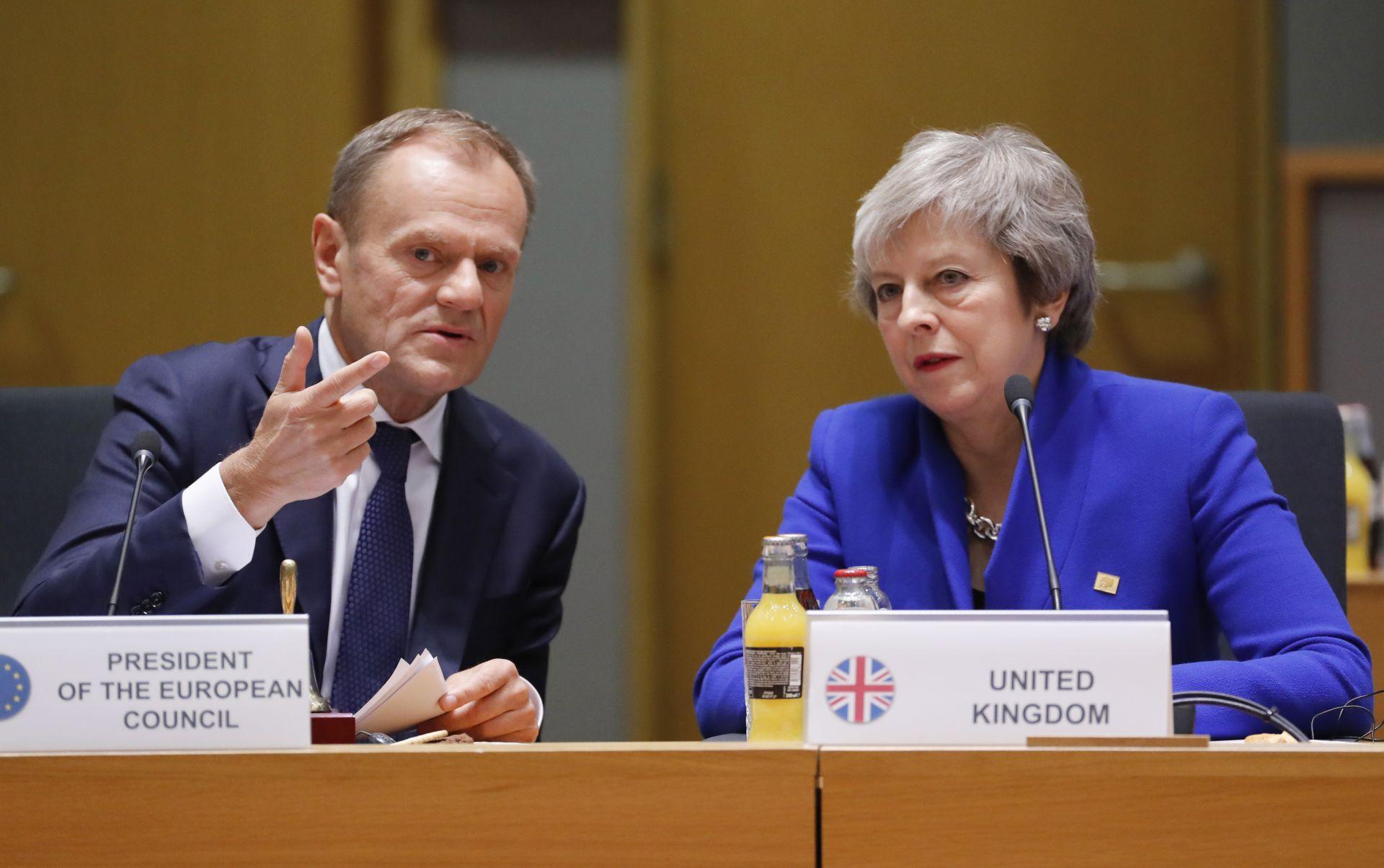 Доналд Туск и Тереза Мей се надяват британският парламент да одобри споразумението