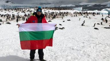 Петър Стойчев е световен шампион в Антарктида