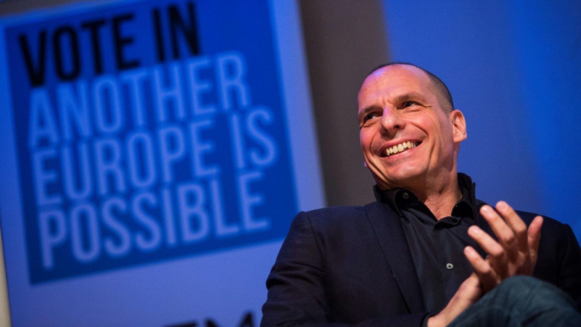 Янис Варуфакис ще се кандидатира за евродепутат в Германия