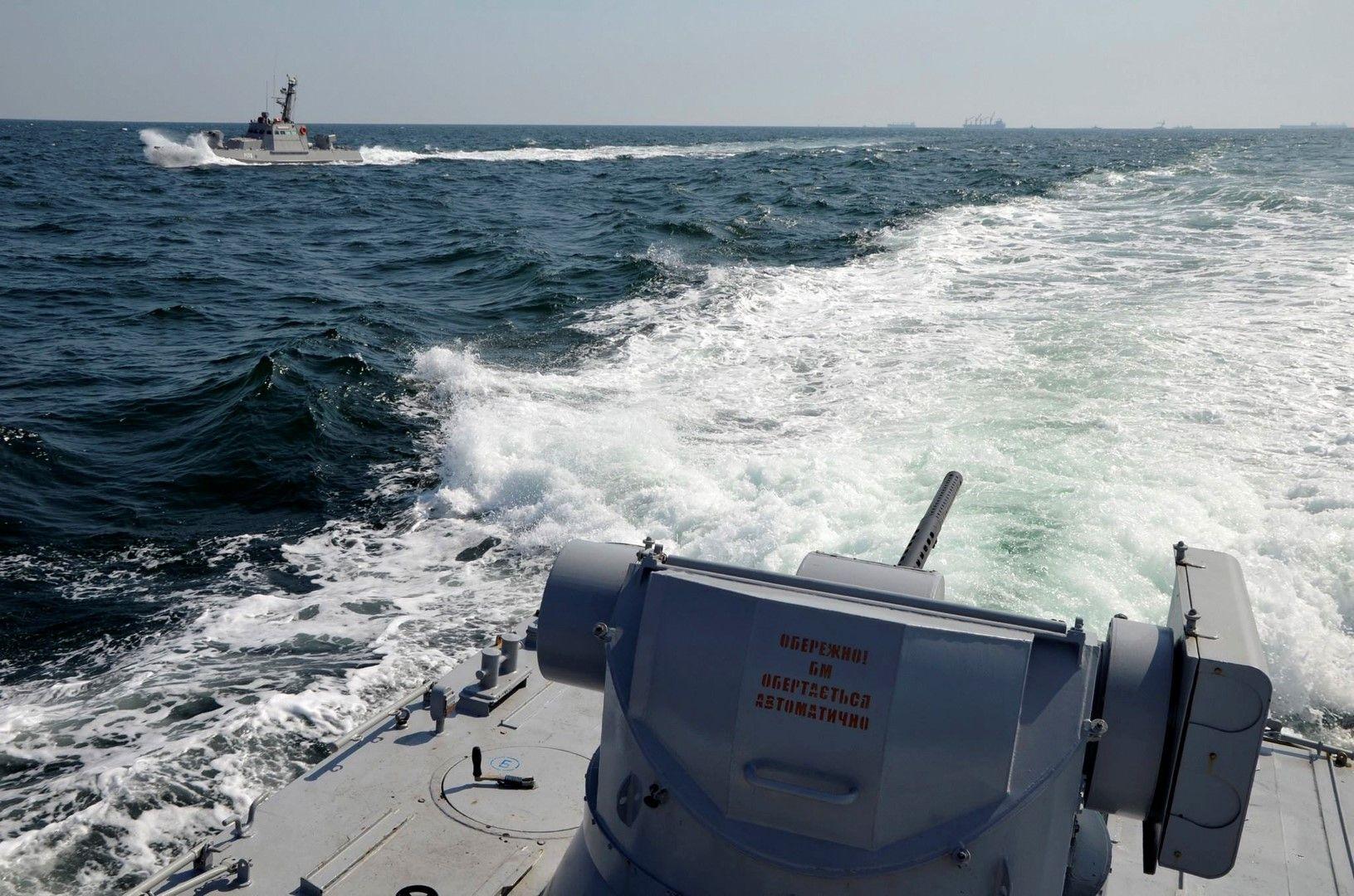 Операция по задържането на украинските кораби