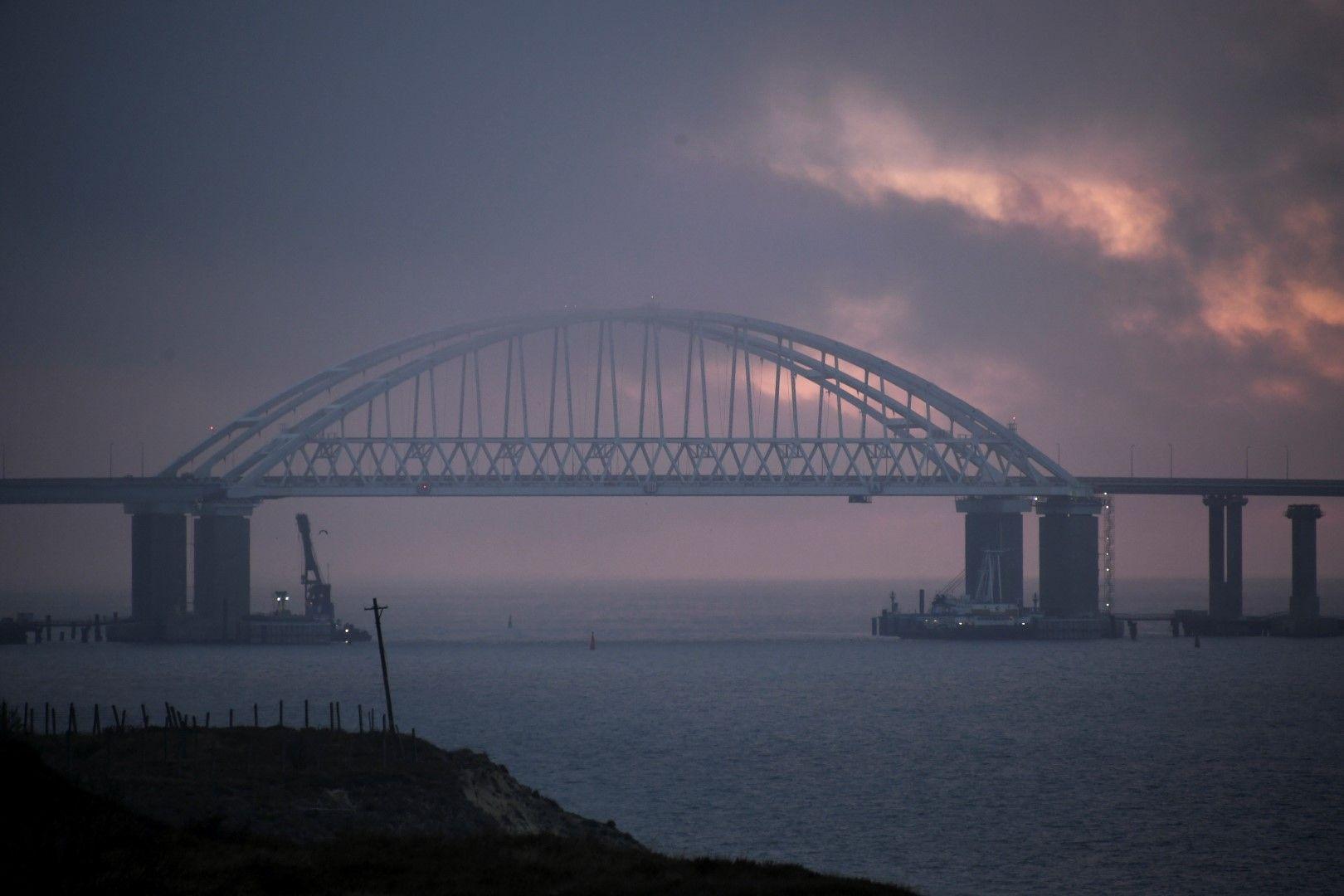 Керченският пролив отново е отворен за търговския флот