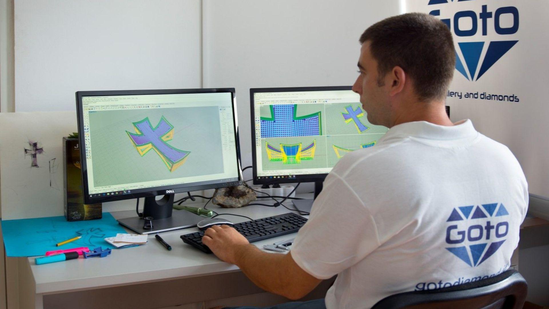 Дизайнерът Иво Илиев подготвя триизмерния проект
