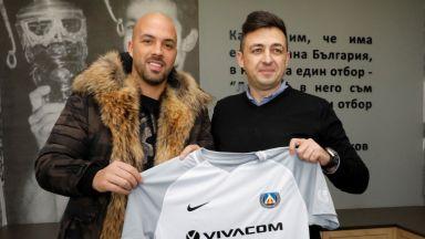 Ники Михайлов се похвали: Отново съм футболист на Левски