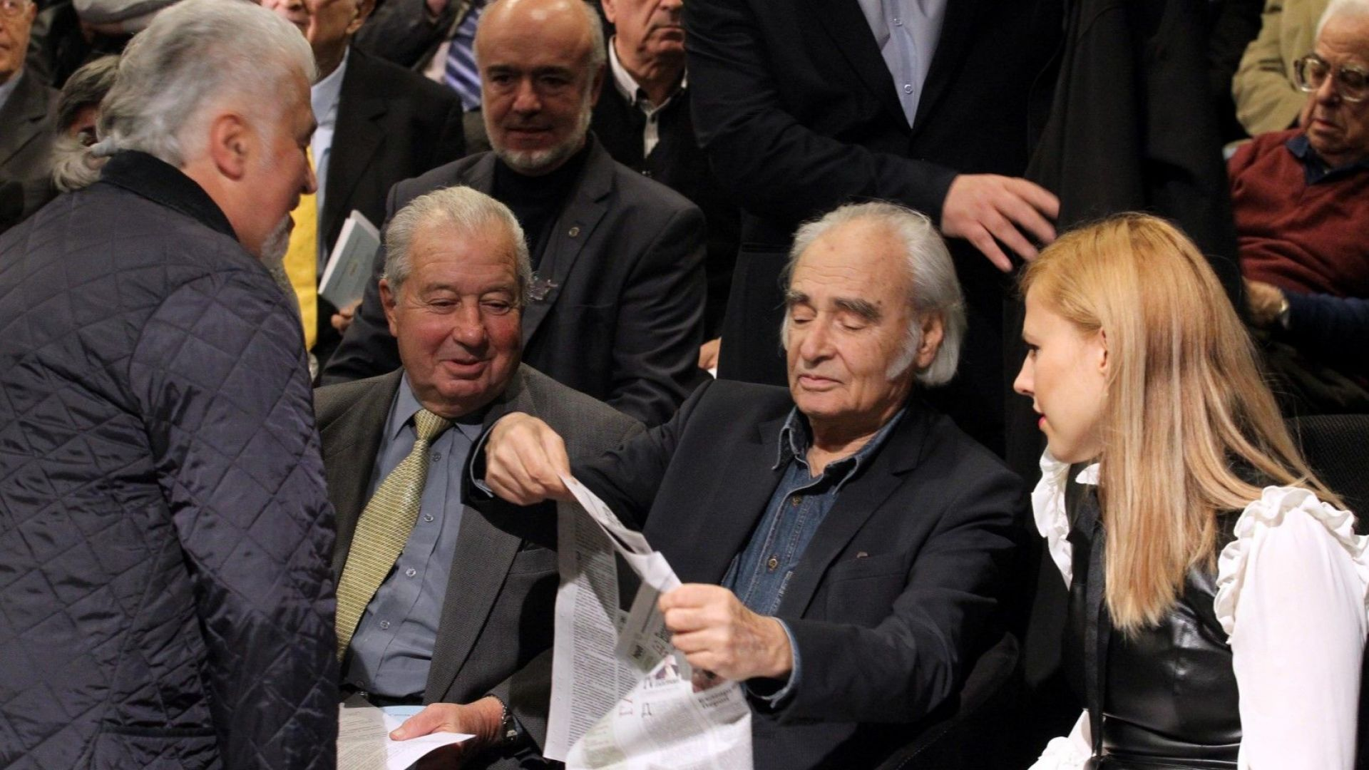 Интелектуалци, бизнесмени и политици се събраха на Националнен сбор за единение