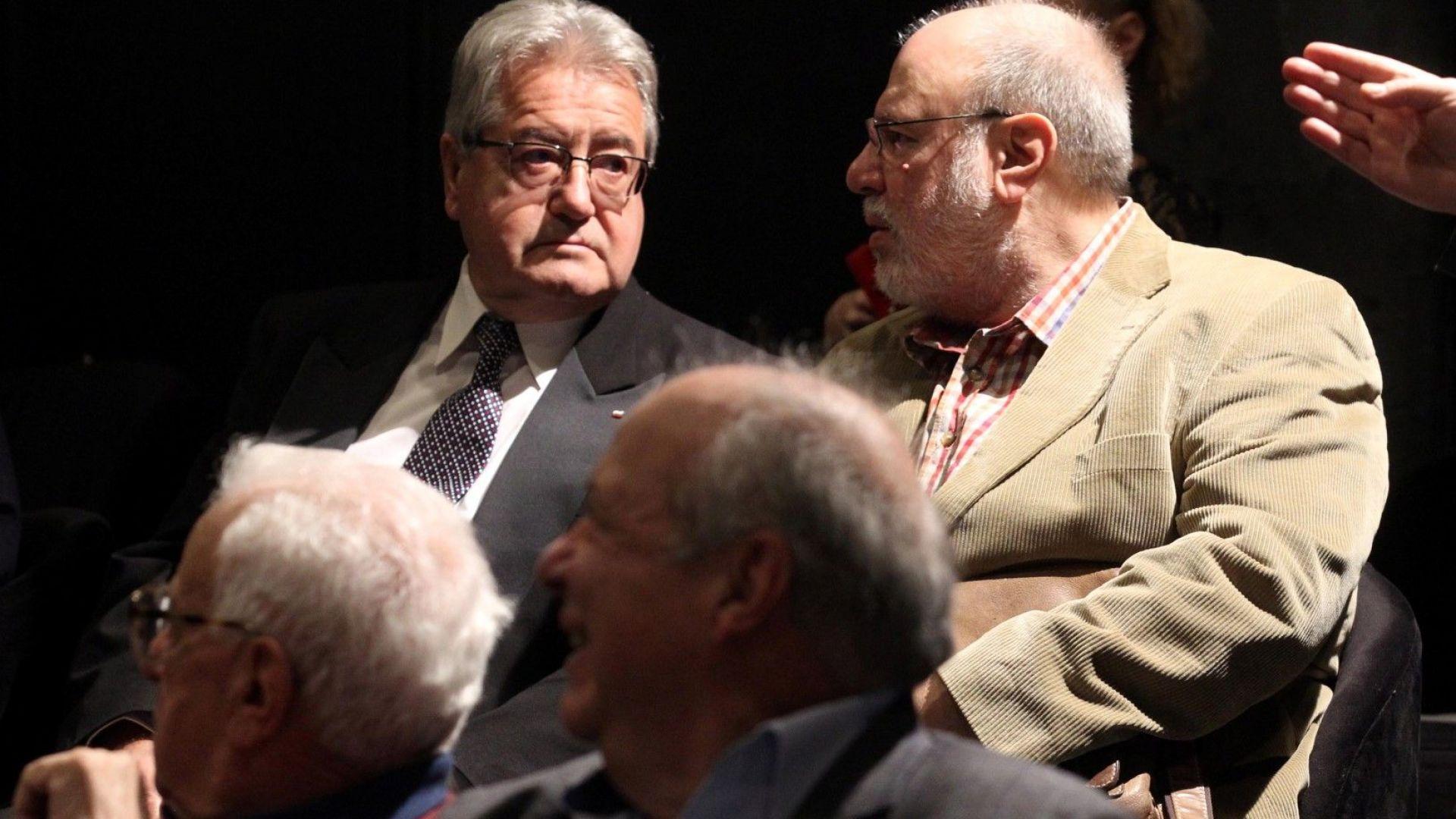 На снимката: Иван Гранитски (вляво)