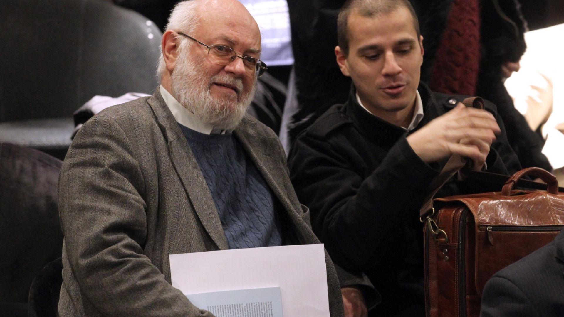 """На всенародния сбор за единението присъства и бившия лидер на КТ """"Подкрепа"""" Константин Тренчев"""