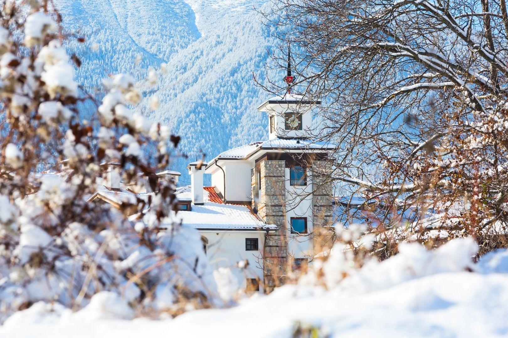Банско - с тази снимка европейският сайт представя българския курорт