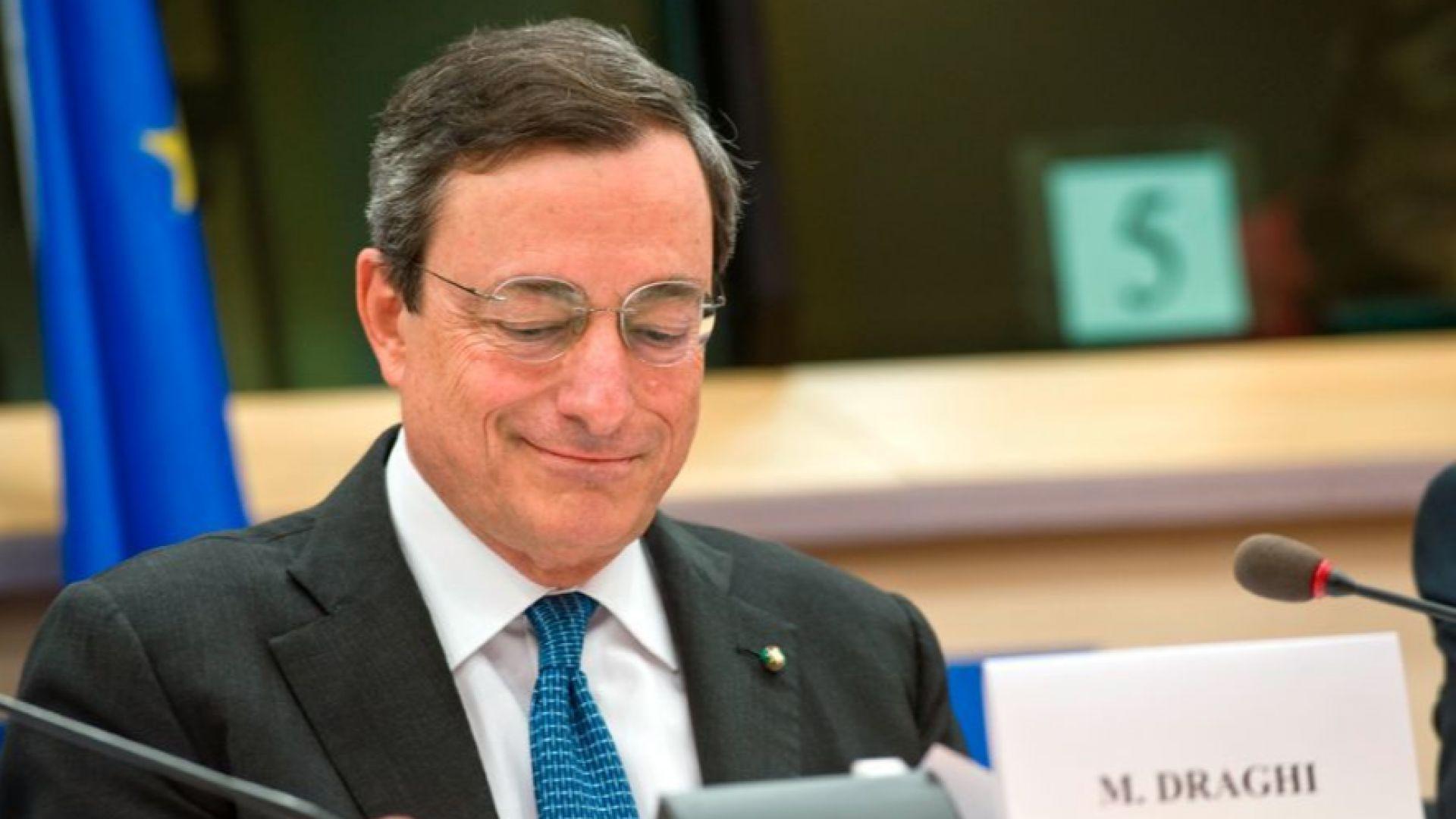 Марио Драгни: Инфлацията в еврозоната още зависи от щедростта на ЕЦБ