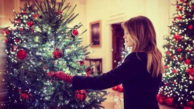Вижте коледната украса в Белия дом