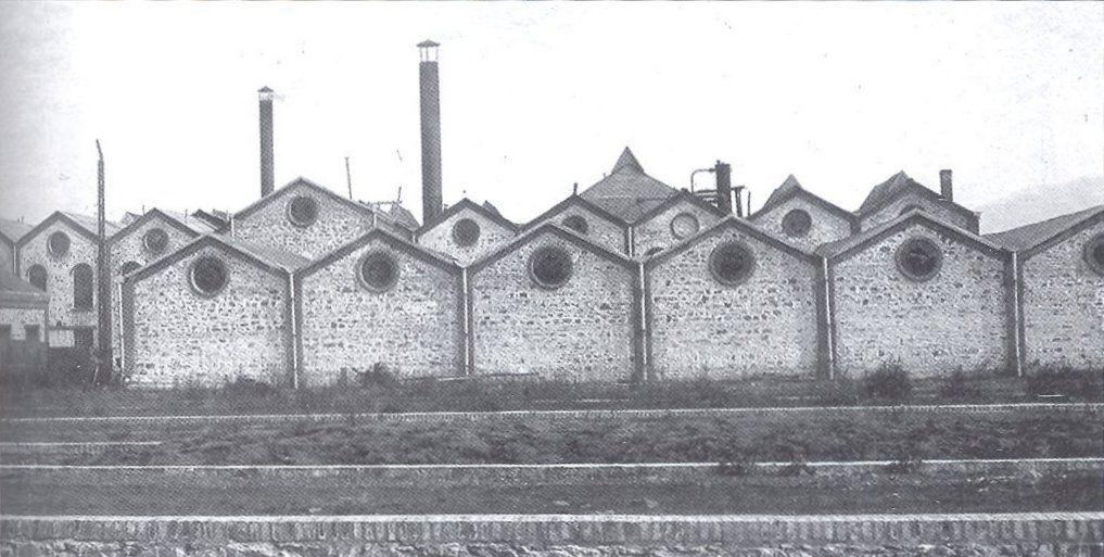 Захарна фабрика през 1900 година