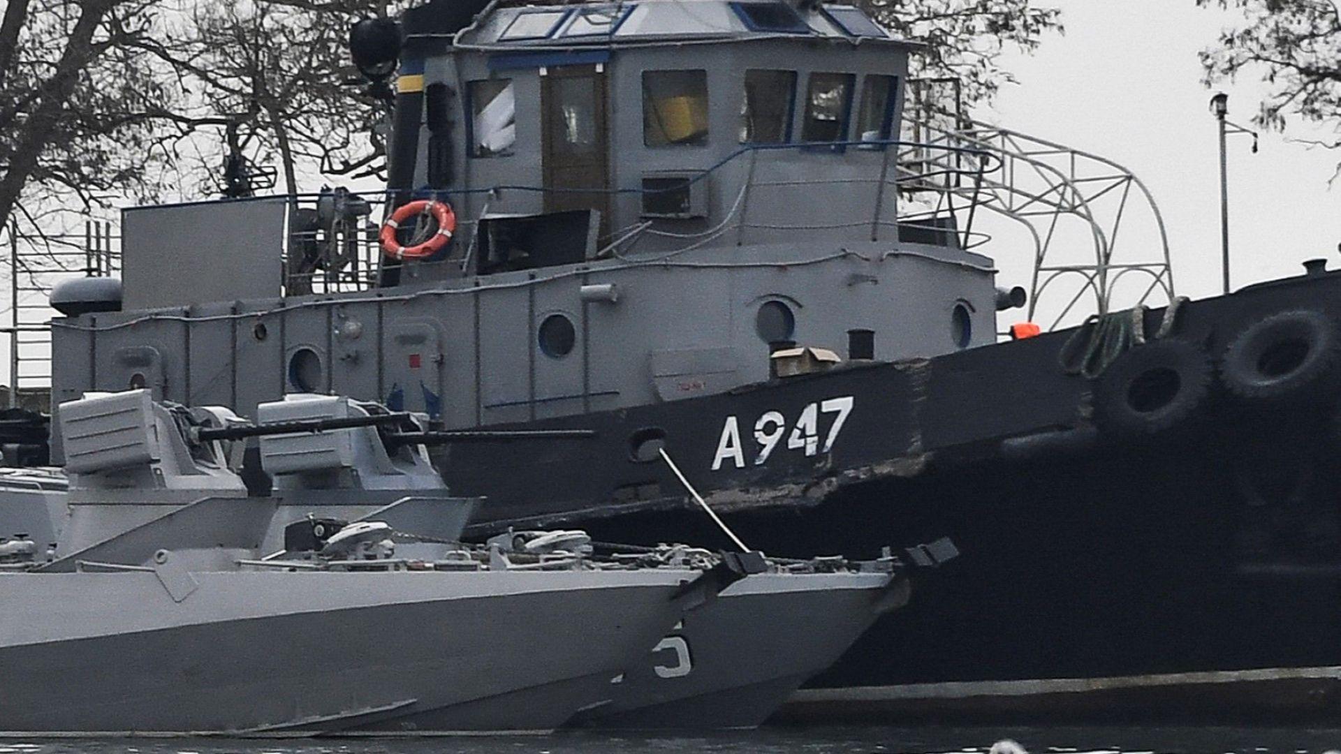 Русия не пуска украинските моряци, съди ги като нарушители на границата