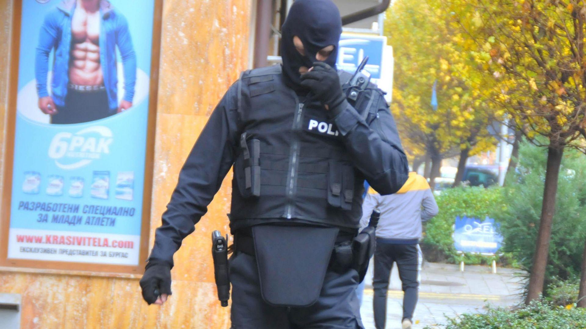Официално: 20 задържани от антимафиотите в Бургас и София за дрога (снимки)