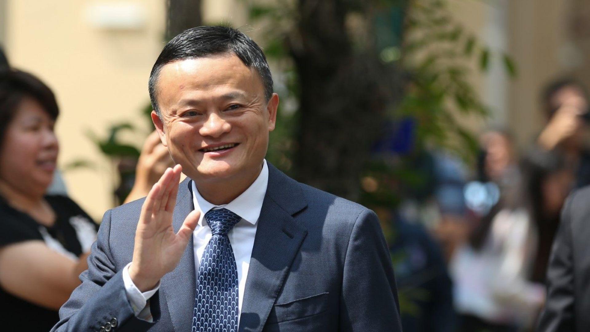 Джак Ма се пенсионира като шеф на Alibaba