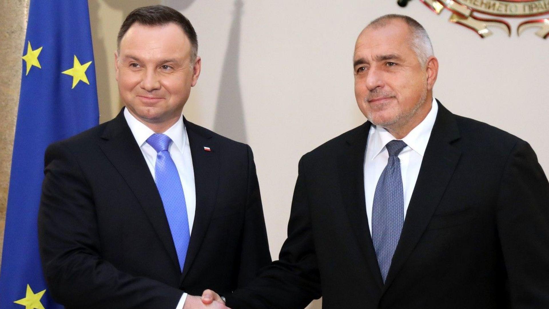 Борисов и Дуда коментираха напрежението между Украйна и Русия