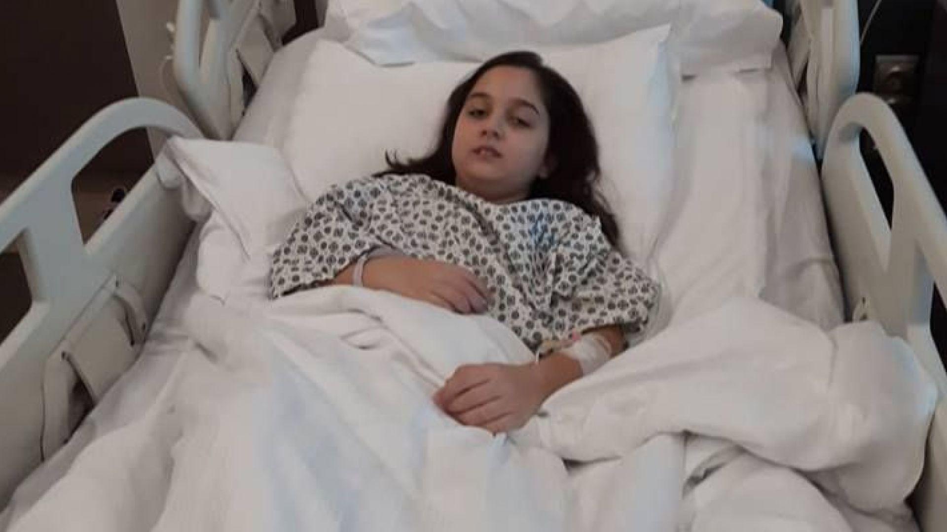 Малката Мелиса от Русе отново има нужда от подкрепа