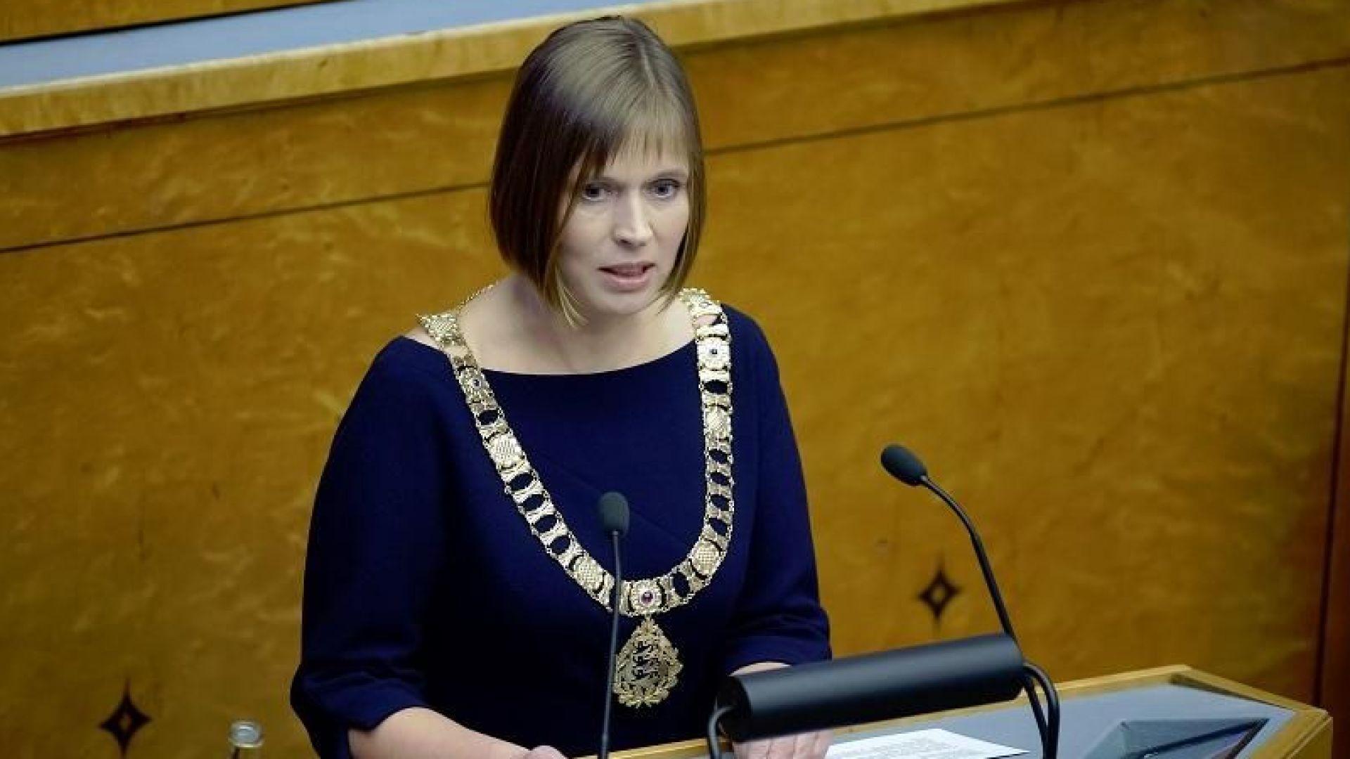 Естонският президент: Руската атака срещу украински военни кораби е война