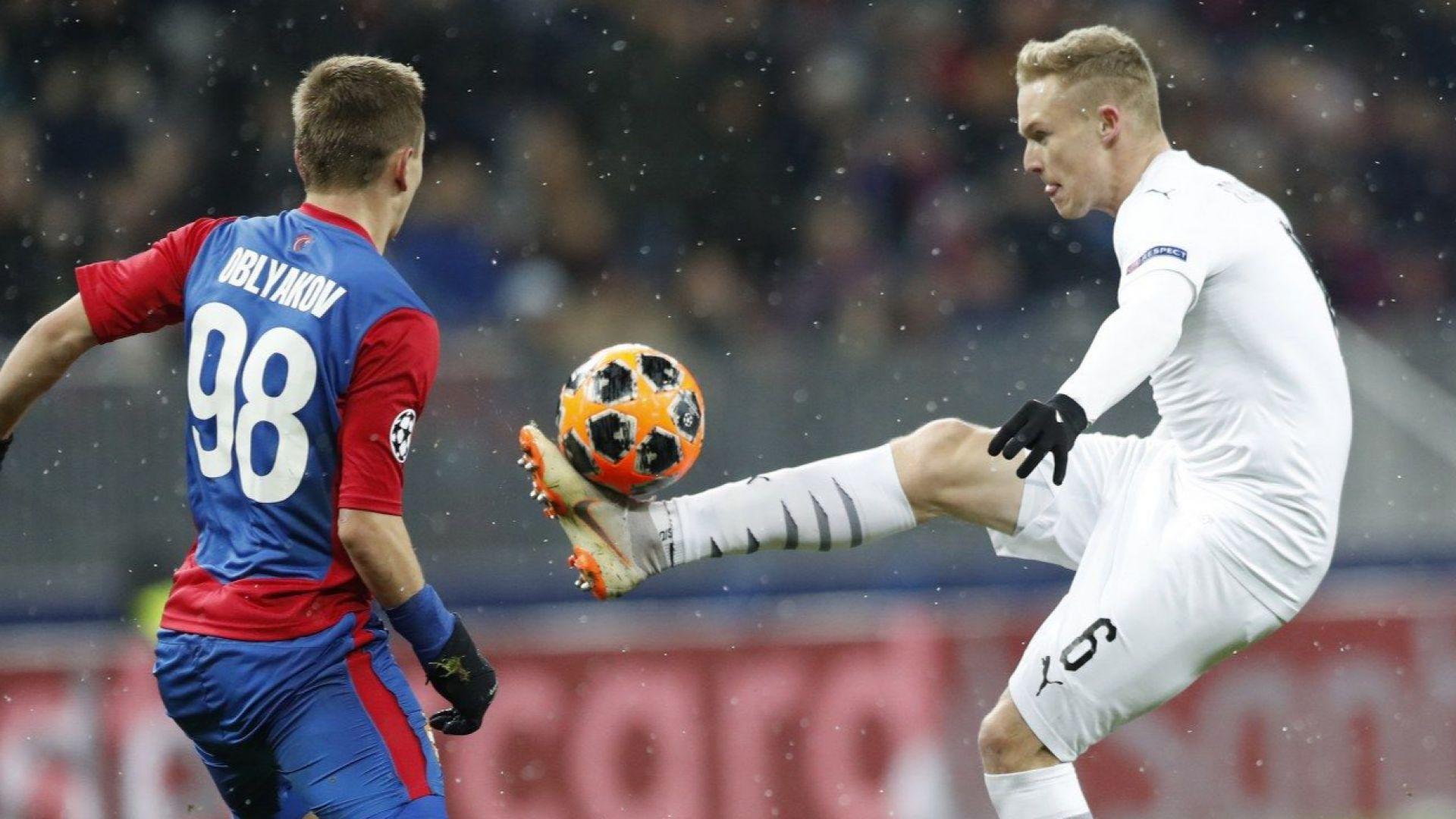 Левскар уби мечтата на ЦСКА в Европа