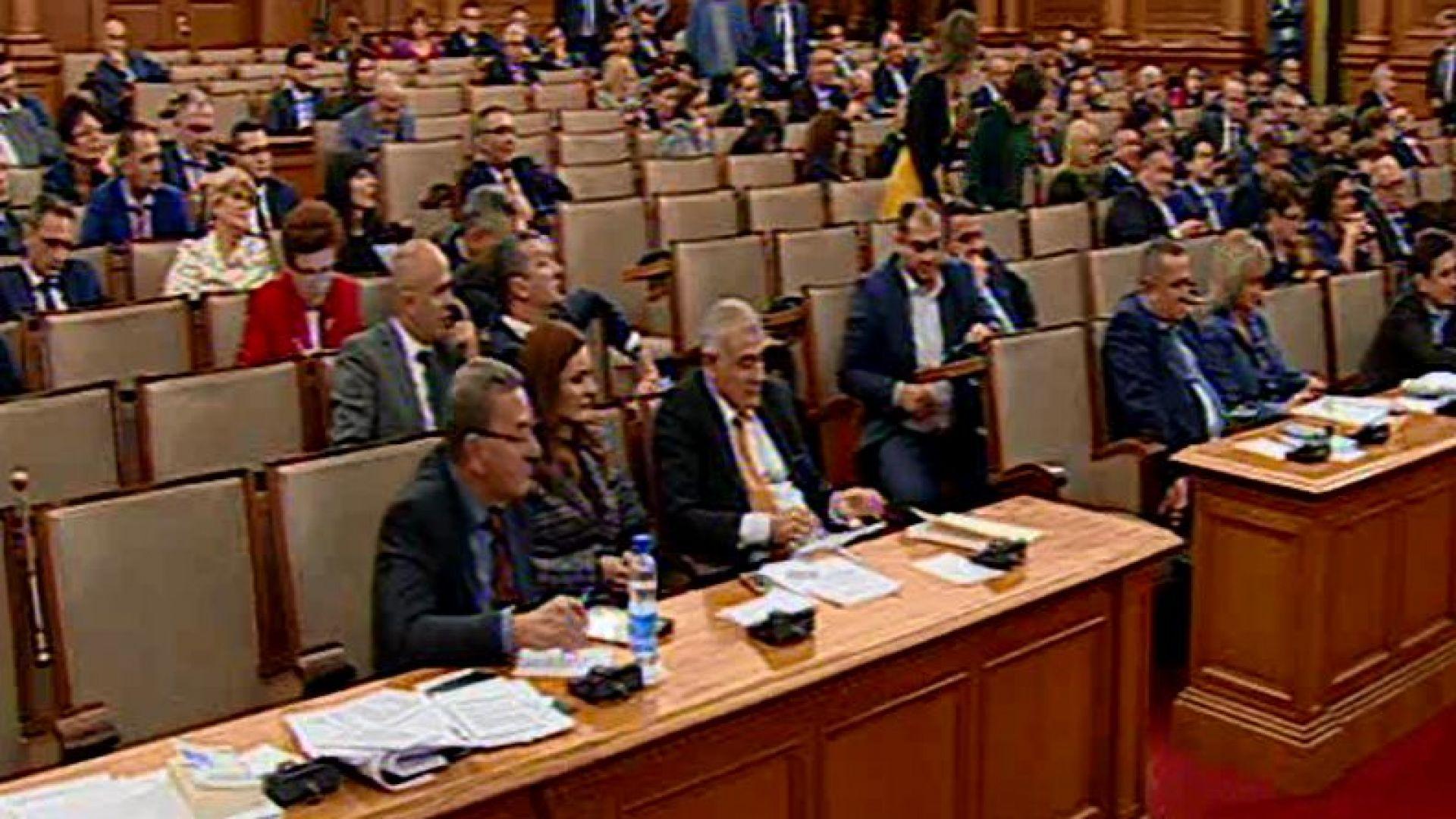 Парламентът прие на първо четене Закона за социалните услуги. Предложението