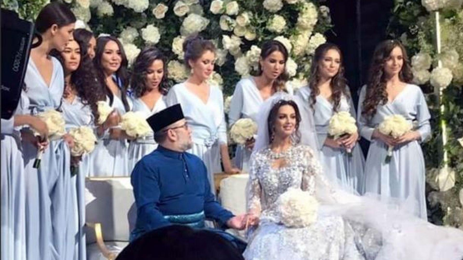 """""""Мис Москва"""" 2015 се омъжи за краля на Малайзия"""