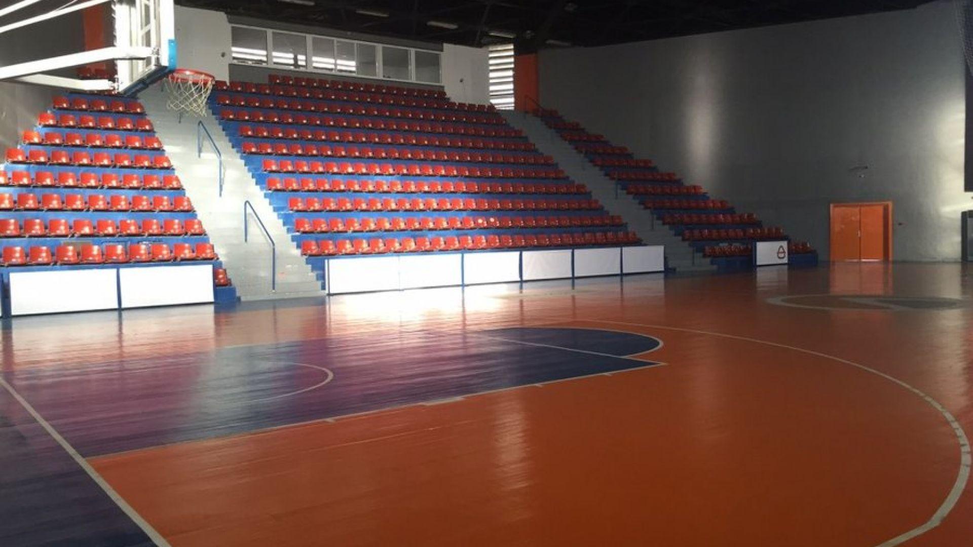 Правят спортна зала за милион лева в Пловдив