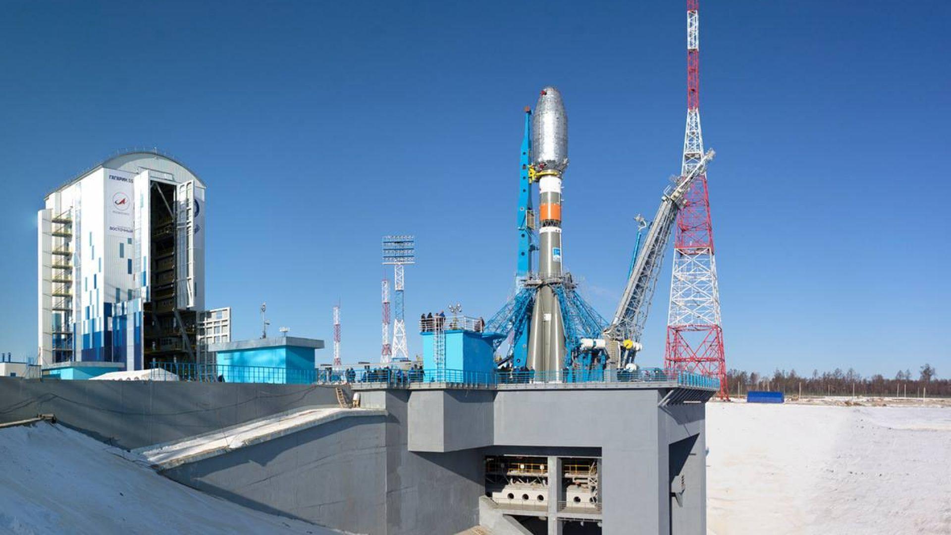 """Откриха сериозен дефект на новия руски космодрум """"Восточный"""""""